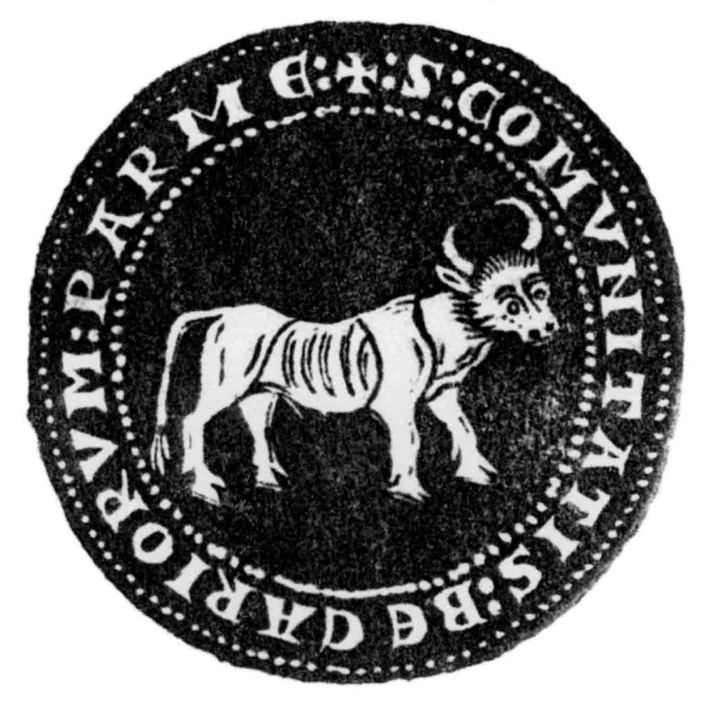 03.04 - Sigillo dell'Arte dei Beccai di Parma - Parma, Archivio di Stato copia