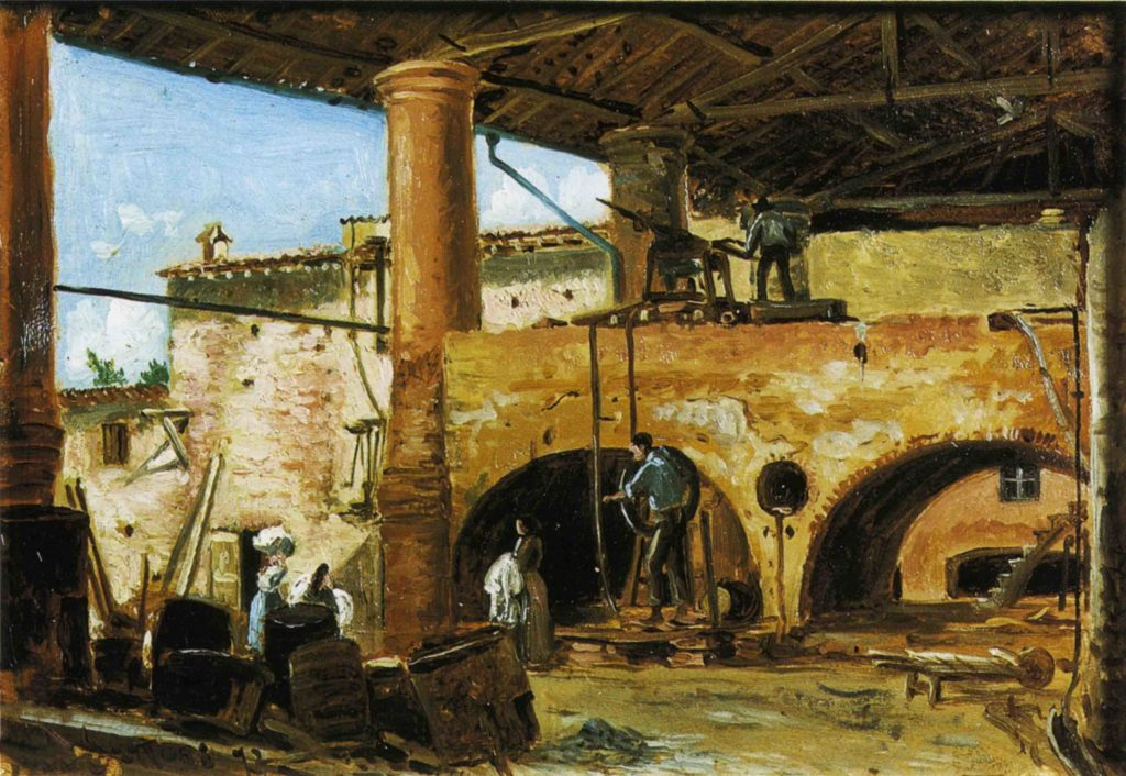 02.06 - E. SARTORI, La salina di Salsominore, 1870 ca (CP)