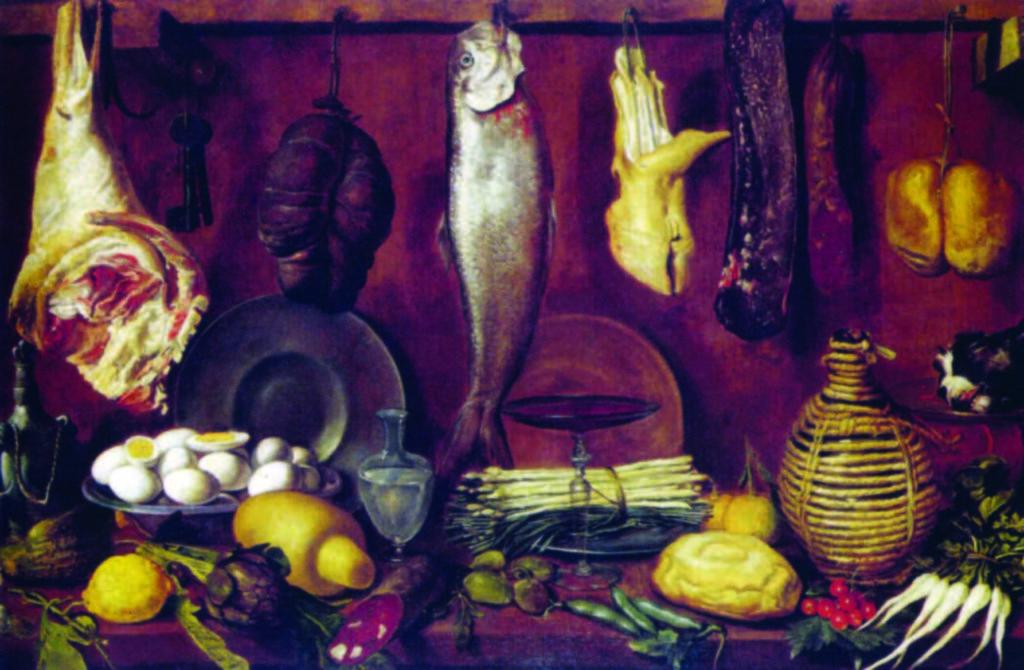 04.02 - Jacopo da Empoli - Natura morta pesci