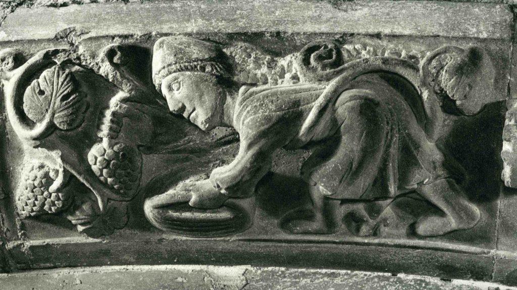 08.01 - Parma, Cattedrale, protiro - Settembre vendemmia