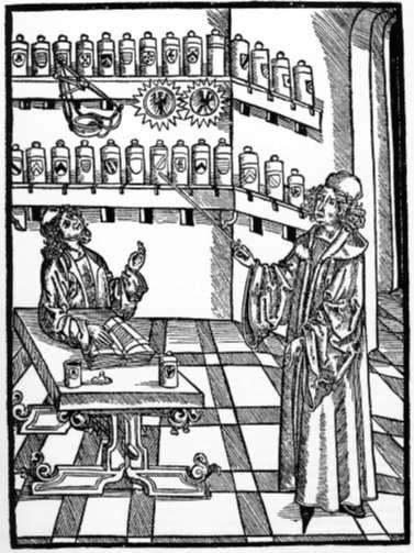 10.01 - Farmacia medievale