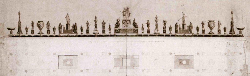 15.01 - DAMIA' CAMPENY, Trionfo da tavola, 1806 -Parma, Galleria Nazionale