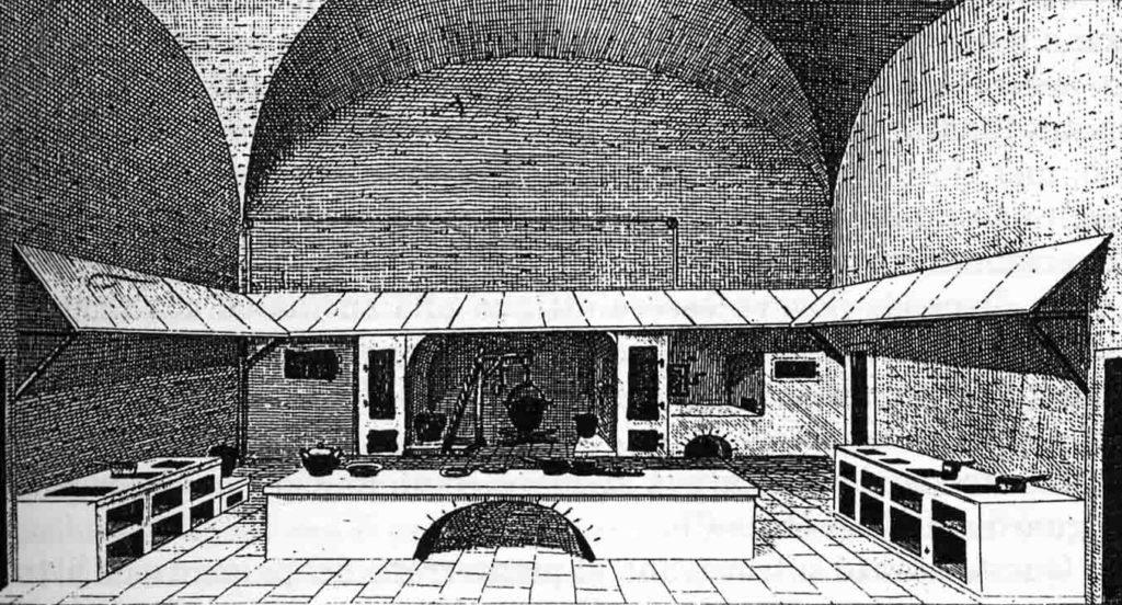 16.01 - Cucina popolare, incisione del 1824