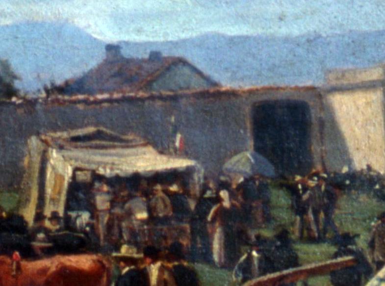18.01 - ENRICO SARTORI, Scena di mercato (particolare), Parma, Galleria Nazionale