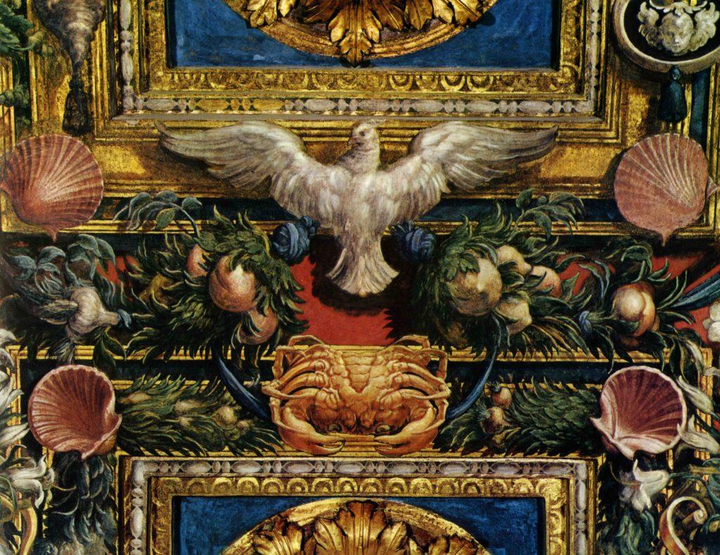 19.03 - FRANCESCO MAZZOLA IL PARMIGIANINO, Affreschi, Parma, Chiesa di Santa Maria della Steccata, particolare