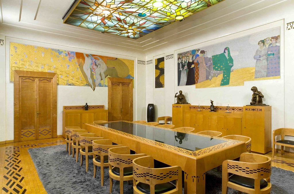 20.01 - AMEDEO BOCCHI, Sala del Consiglio, lato Sud-Ovest, 1917 (Parma, Sede centrale Cariparma)