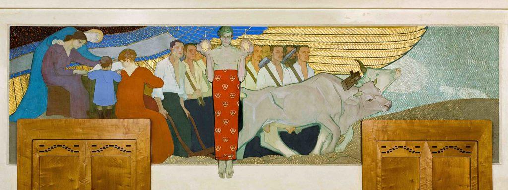 20.03 - AMEDEO BOCCHI, La protezione, 1917 (Parma, Sede centrale Cariparma)