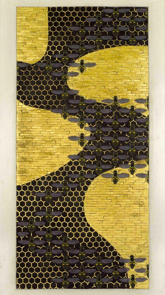 20.06 - AMEDEO BOCCHI - Il favo e le api, 1917 - Parma, Sede centrale Cariparma