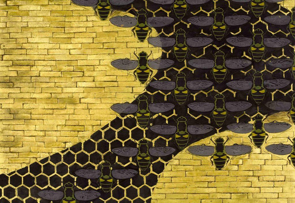 20.07 - AMEDEO BOCCHI - Il favo e le api, 1917 - Parma, Sede centrale Cariparma