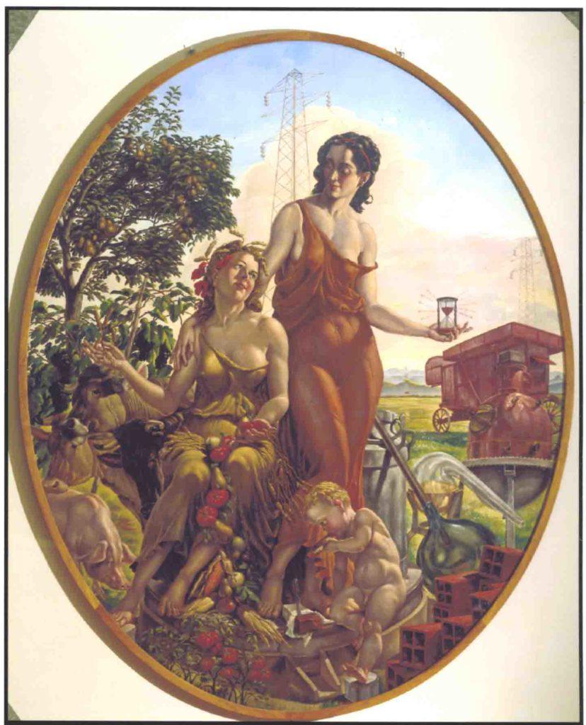 21.08 - AMOS NATTINI, Allegoria dell'industria parmense, 1944 - Parma, Collezioni d'arte Cariparma