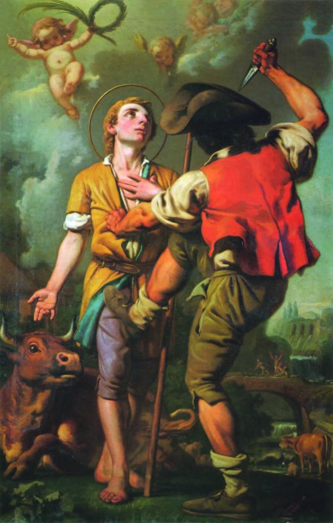 24.07 - G. PERONI (1700-1776), Martirio di S. Lucio - (Parma, Galleria Nazionale)