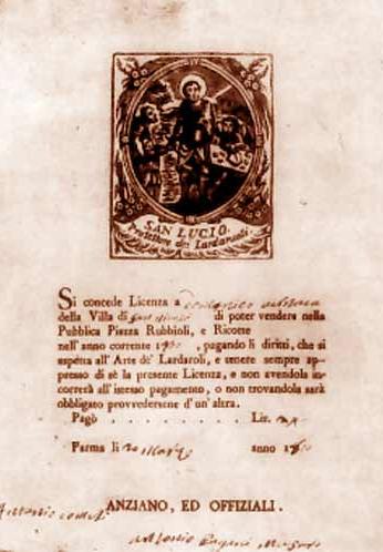 24.09 - Licenza Lardaroli con San Lucio - ASCPR