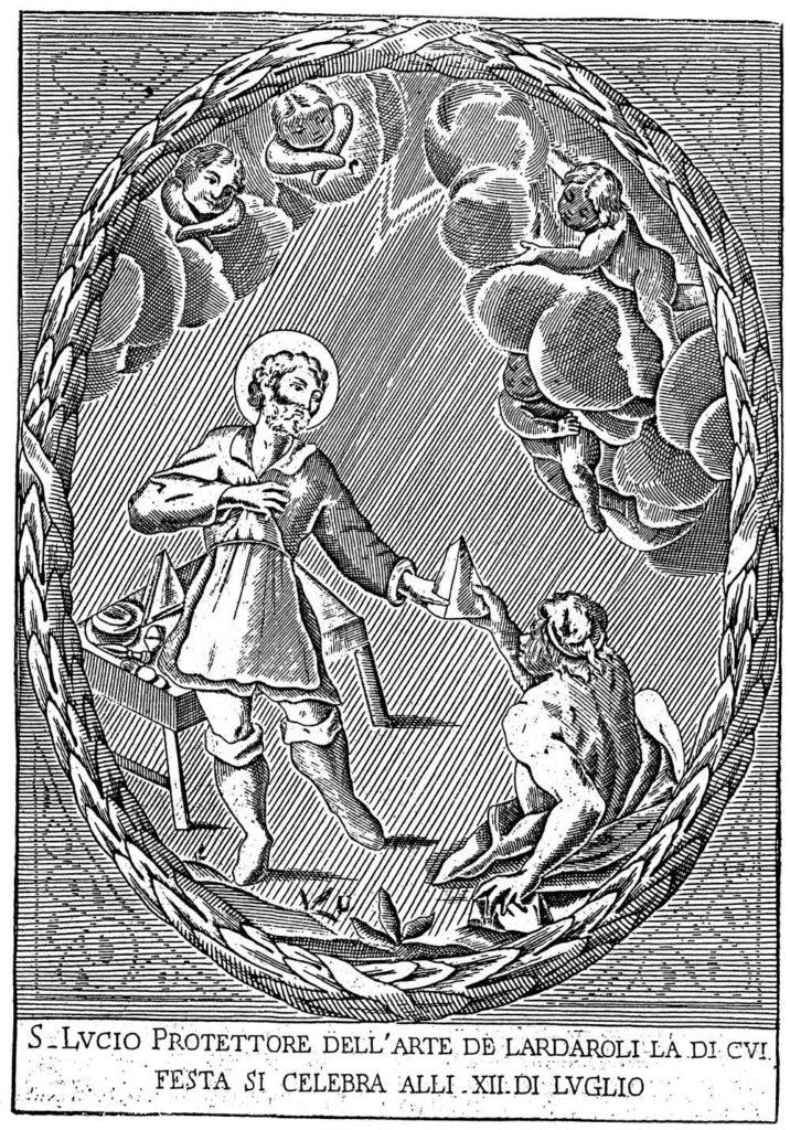 WEB24.08---San-Lucio-protettore-dei-Casari,-incisione-del-XVIII-sec.---Parma,-Archivio-di-Stato
